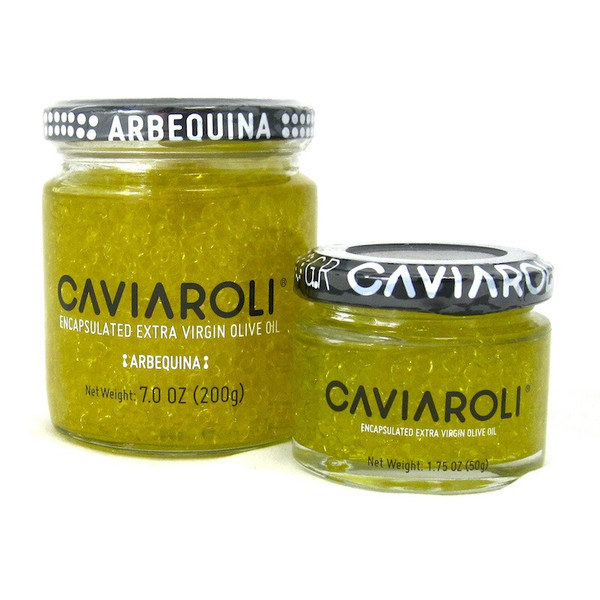 Arbequina Olive Oil Pearls by Caviaroli (Spain)