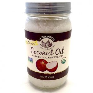 Coconut Oil, Raw & Refined by La Tourangelle (Japan) 14oz
